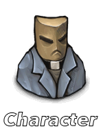 Character button