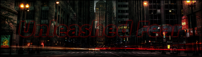 Unleashed Fear v3 homepage banner