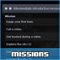 Thumbnail of the missions system